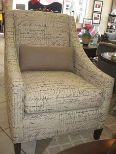 french script chair - Google Search