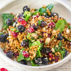 Spinach Blueberry Su