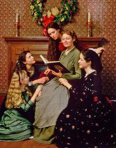 Pelcula Little Women, con Louisa May Alcott, Susan Sarandon, Winona Ryder, kirsten Dunts ,Claire Danes y Trini Alvarado