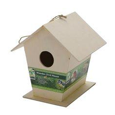 Wooden Bird Nest Box Outdoor For Small Birds Buletit Robin Sparrow Durable Service Other Bird & Wildlife Accs Bird & Wildlife Accessories