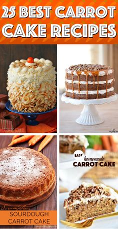25 Best Carrot Cake Recipes That are Another Name for Irreristible #carrot #cake #recipes