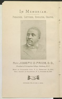 Image 4 of A noble life : memorial souvenir of Rev. Price, D. African American Genealogy, African American Books, Social Networks, Social Media, George Clinton, The Orator, Library Of Congress, Civil Rights, Black History