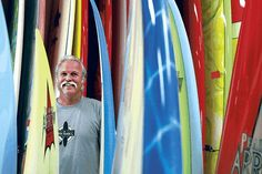 Shmuel Thaler/Sentinel Legendary surfboard shaper Bob Pearson?s Pearson Arrow company has manufactured about 70,000 boards. Surfboard Storage, News Anchor, Surfing, Bob, Surfboards, Bob Cuts, Surf, Surfs Up, Surfs