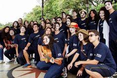 Flash mobs discutem temas do mundo contemporâneo