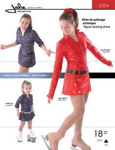 Jalie Figure skating dress 2324