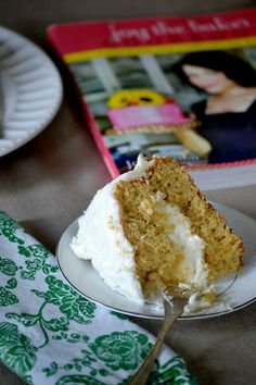 Chamomile Cake with Honey Frosting @Carrie (adapted from @joythebaker cookbook)