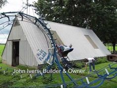 HOMEMADE ROLLER COASTER Video! Lol Must see!  5 Weirdest Things People Built in their backyards! #homemade
