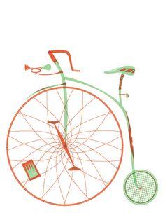 old bike stationary
