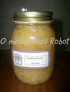 O meu mundo Robot: Bimby - Compota de Abacaxi com coco