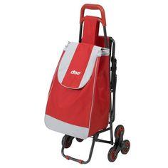 40 L Sabichi Jeanie Spot Shopping Trolley Roller Case 96 cm Red