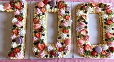 Number Cakes, Food Cakes, Bruschetta, Kys, Cake Recipes, Food And Drink, Merry, Sweets, Snacks