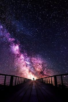 uploads beautiful sky landscape night stars nature amazing milky way bridge Beautiful Sky, Beautiful World, Beautiful Places, Stunningly Beautiful, Ciel Nocturne, Sky Full Of Stars, Star Sky, Jolie Photo, Galaxy Wallpaper
