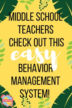 Middle School Teachers need to check out this behavior management system to help their students and their classrooms thrive! This system is easy to set up in the classroom and has made teaching more fun! Plus, the kids love it! Middle School Rewards, Middle School Management, Middle School Behavior, Education Middle School, Middle School Classroom, Middle School Science, High School, Middle School Decor, 7th Grade Classroom