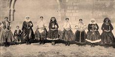 TÖRTÉNELMI KALEIDOSZKÓP...: ESZTERGOM VÁRMEGYE NÉPE - 1900 körül...
