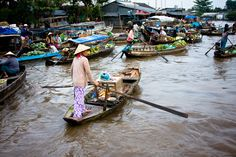 Mekong Delta Vietnam, Ranger, Green Fields, Wanderlust, Scenery, Photos, Asia, Around The Worlds, Tropical