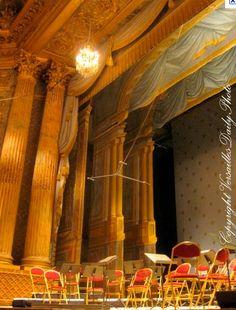 Opéra Royal du Château de Versailles, bâti pour le mariage du Dauphin le futur Louis XVI avec Marie-Antoinette