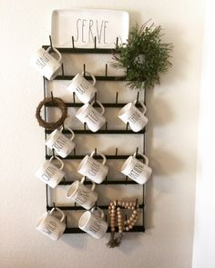 Amazing DIY Rae Dunn Display Ideas and Pictures 26