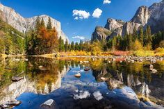 America's national parks are packed full of breathtaking natural wonders. Whether you're climbing Half Dome in Yosemite or waiting for a herd of buffalo to cross the road in Yellowstone, you'll no … Us National Parks, Yosemite National Park, Yosemite Valley, Yosemite California, California Camping, California Usa, Most Haunted, Stay The Night, Travel Photos
