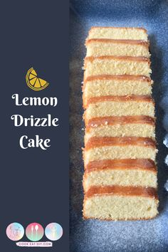 The most delicious and zesty lemon cake!