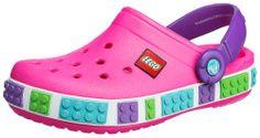 CROCS Crocband LEGO Kinderschuhe, Farbe pink  http://www.meinspielzeug24.de/crocs-crocband-lego-kinderschuhe-farbe-pink  #Mädchen #Sandalen, #Schuhe