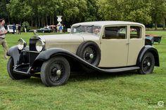 Hispano Suiza HS26 à Chantilly Arts et Elegance #MoteuràSouvenirs Reportage :  http://newsdanciennes.com/2016/09/05/chantilly-arts-et-elegance-2016-creme-creme/ #ClassicCar #VintageCar #Voiture #Ancienne