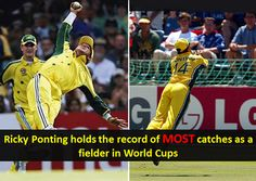 Players with most catches in ICC Cricket World Cup 2015