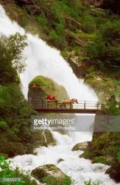 Waterfall, Norway