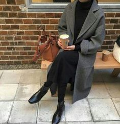 ideas for fashion inspiration fall minimal chic - Inspo moda - Kleidung Minimal Chic, Minimal Fashion, Minimal Outfit, Minimal Classic, Mode Outfits, Winter Outfits, Fashion Outfits, Womens Fashion, Fashion Trends