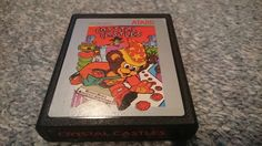 """Atari 2600 Game """"Crystal Castles"""" w/ Blue Outlined Letters CDN $15.00 Atari 2600 Game """"Crystal Castles"""" w/ Blue Outlined Letters The game has been tested on an Atari 2600 Darth Vader Edition. The game has been tested and working properly.https://themancavecinema.ecwid.com#!/Atari-2600-Game-Crystal-Castles-w-Blue-Outlined-Letters/p/65086054"""