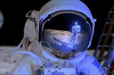 """We live in a strange world, and as Neil Armstrong once said, there are """"great…"""