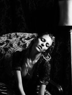 NEW YORK / ANJA RUBIK / V MAGAZINE / MAY 2011 by Hedi Slimane
