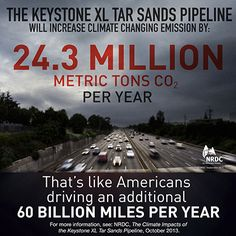 Illustrating How the Keystone XL Tar Sands Pipeline Fails The President's Climate Test | Anthony Swift