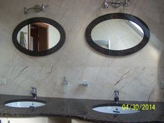 kamienny blat łazienkowy