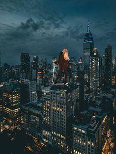 New York Skyline, Artworks, Illustration Art, Travel, Design, Kunst, Viajes, Destinations