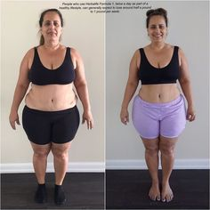 Look at this amazing transformation only 45 days apart and look at the difference is!  Yes results are possible with Herbalife Nutrition & healthy eating  The first step is to make a choice! You can do it!