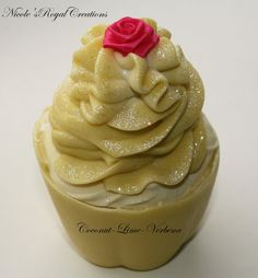 Cupcake soap natural handmde gift giving by NicoleRoyalCreations