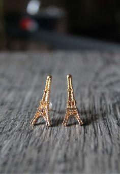 Eiffel Tower Earrings, Cute Earrings, Special Gift, Unique Earrings, Earrings for Girls  Ask a Question $6.00 USD