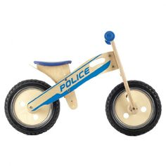 Police Smart Balance Bike.....I know many kids that would love this.