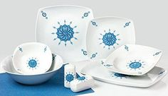 Porzellan Tafelservice Kaffeeservice Essservice 28tlg Hünkar TK-983 NEUWARE Tea Cups, Plates, Tableware, Ebay, Dinner Sets, Kaffee, Essen, Licence Plates, Dishes