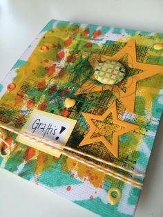 Gula Villan i Vallen - For Words & Paintery February 2015