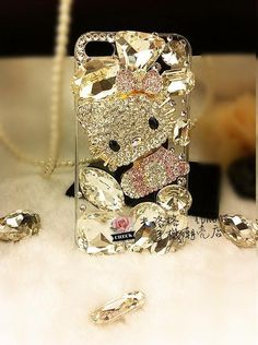 Bling Phone Cases, Cool Iphone Cases, Ipod Cases, Diy Phone Case, Cute Phone Cases, Friends Phone Case, Mobile Cases, Hello Kitty, Iphone Accessories