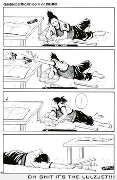 Anime/manga: Naruto (Shippuden) Character: Shikarmaru showing his true nature of laziness Naruto Comic, Anime Naruto, Manga Anime, Naruto Cute, Manga Girl, Anime Girls, Naruto Uzumaki, Gaara, Itachi