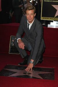 Simon Baker gets Hollywood star. SheKnows.com.au