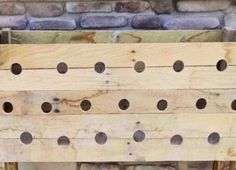 How To Build A Pallet Planter Box With A Cascading Effect