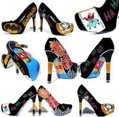 16555288db0e Joker Heels with Swarovski Crystals and Glitter