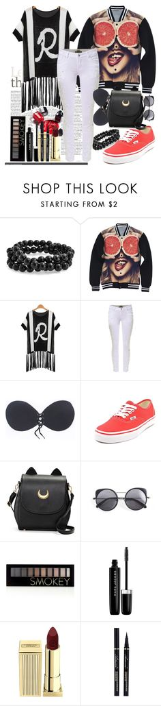 SimpleDress#23 by mila96h ❤ liked on Polyvore featuring Chanel, Bling Jewelry, Vans, Wood Wood, Forever 21, Marc Jacobs, Lipstick Queen and simpledress