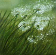 Blowing in the Wind by VivalaVida on DeviantArt Some people will see weeds. Instead, look at all those wishes.