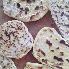 Ein einfaches Naan Brot Rezept ohne Hefe