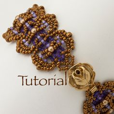 Beadwoven Bracelet Tutorial Pearls and Scales with by JewelryTales