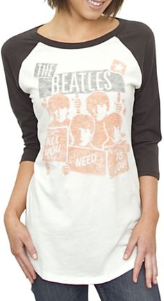 Beatles raglan tee